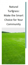 Natural Turfgrass: Make the Smart Choice for Your Community