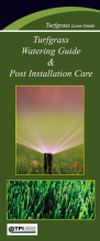 Turfgrass Watering Guide & Post Installation Care